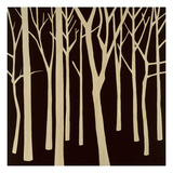 Sepia Forest 2 Giclee Print by Mary Calkins