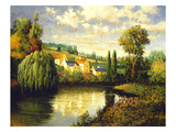 Summer at Limoux Prints by Max Hayslette