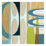 Ocean and Sand 2 Prints by Mary Calkins