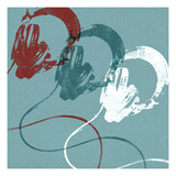 Headphones B Giclee Print by Stella Bradley