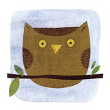 Owl Prints by Kate Endle