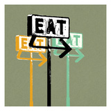 Eat Print by Stella Bradley