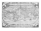 Vintage Map 3 Giclee Print