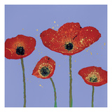 Sky Poppies 2 Giclee Print by Dominic Pangborn