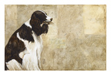 A Dog's Story 1 Giclee Print by Elizabeth Hope