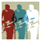 Rockers Giclee Print by Stella Bradley