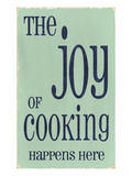 The Joy of Cooking Giclee Print by  Barn Owl Primitives