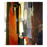 Abstract Variation 25 Giclee Print by T.L. Lange
