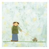Can't Rush a Turttle Giclee Print by Kate Endle