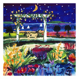 Views of August Stars Giclee Print by Mike Smith