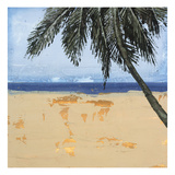 Peaceful Beach 3 Giclee Print by David Dauncey