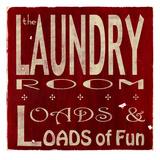 The Laundry Reproduction procédé giclée par  Barn Owl Primitives