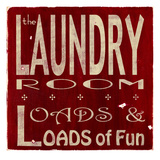 The Laundry Art by  Barn Owl Primitives