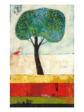 Backyard Tree Giclee Print by Nathaniel Mather