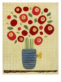 Big Poppies in a Vase Prints by Kate Endle