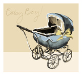 Baby Boy! Giclee Print by Ashley David