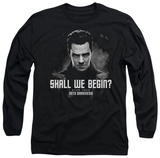 Long Sleeve: Star Trek Into Darkness - Shall We Begin T-shirts