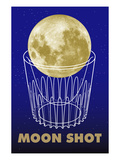 Moon Shot Giclee Print by Lauder Bowden