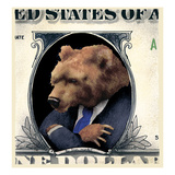 The Bear Market Prints by Will Bullas