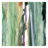 Spring Green Splash B Prints by Tracy Hiner