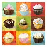 Enjoy Cupcakes Prints by Cory Steffen