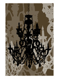 Chandelier 1 Chocolate Posters by Sharyn Sowell