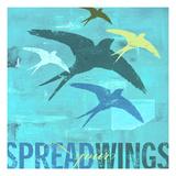 Spread Your Wings 1 Giclee Print by CJ Elliott