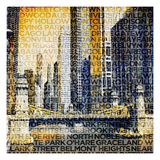 Chicago Vibe Giclee Print by  GI ArtLab