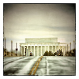 Leading to Lincoln Photographic Print by Pamela Viola