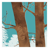 Red Alder Giclee Print by  jefdesigns
