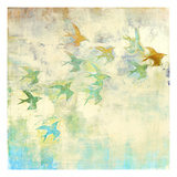 Oiseaux 2 Impression giclée par Maeve Harris