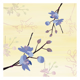 Zen Blossoms 2 Giclee Print by Kate Knight