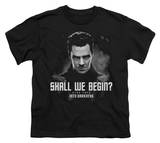 Youth: Star Trek Into Darkness - Shall We Begin T-shirts