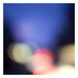 Blurred Lights Abstract 3 Photographic Print by Paul Edmondson