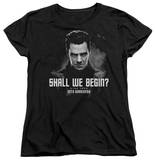 Womens: Star Trek Into Darkness - Shall We Begin T-shirts