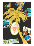 Palm 1 Giclee Print by Cory Steffen