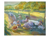 The Vineyard Giclee Print by John Asaro