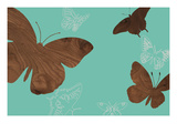 Butterflies 2 A Giclee Print by  jefdesigns