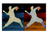 Double Pitch Giclee Print by Robert Williamson