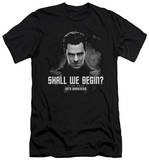 Star Trek Into Darkness - Shall We Begin (slim fit) T-shirts