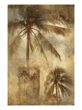 Retro Palms II Prints by Thea Schrack
