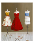 Dressmaking Giclee Print by Janet Hill