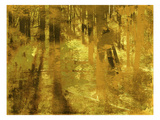 Golden Birch Meadow Prints by  GI ArtLab