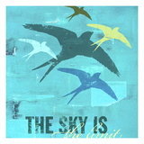 The Sky is the Limit 1 Giclee Print by CJ Elliott