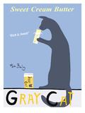 Gray Cat Wydruk giclee autor Ken Bailey