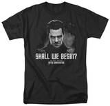 Star Trek Into Darkness - Shall We Begin T-Shirts