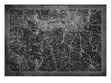 Dallas Map A Giclee Print by  GI ArtLab
