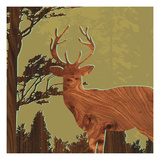Deer 1 Giclee Print by  jefdesigns
