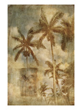 Retro Palms I Prints by Thea Schrack