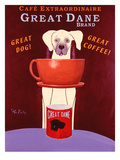 Great Dane Brand Premium Giclee Print by Ken Bailey
